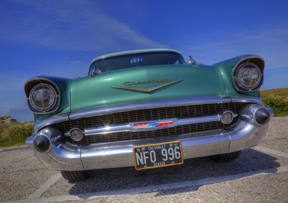 Nostalgic classic cars - Chevy Bel Air